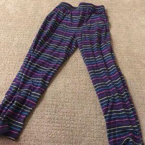 Striped girls PJS